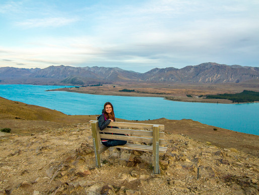 Hiking Mt. John Walkway in Lake Tekapo, New Zealand