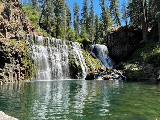 Hiking the McCloud Waterfalls Trail