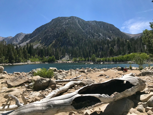 Hiking Sherwin Lakes Trail in Mammoth, CA