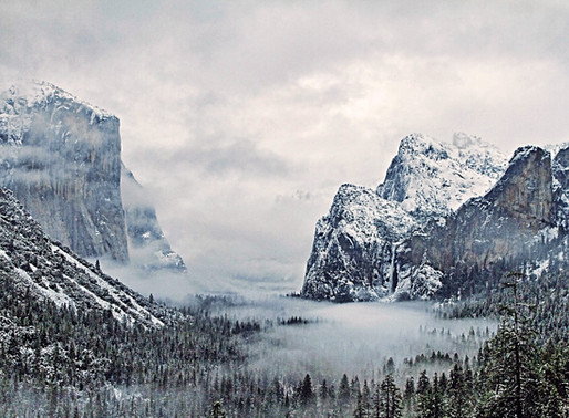 Yosemite National Park- A True Winter Wonderland