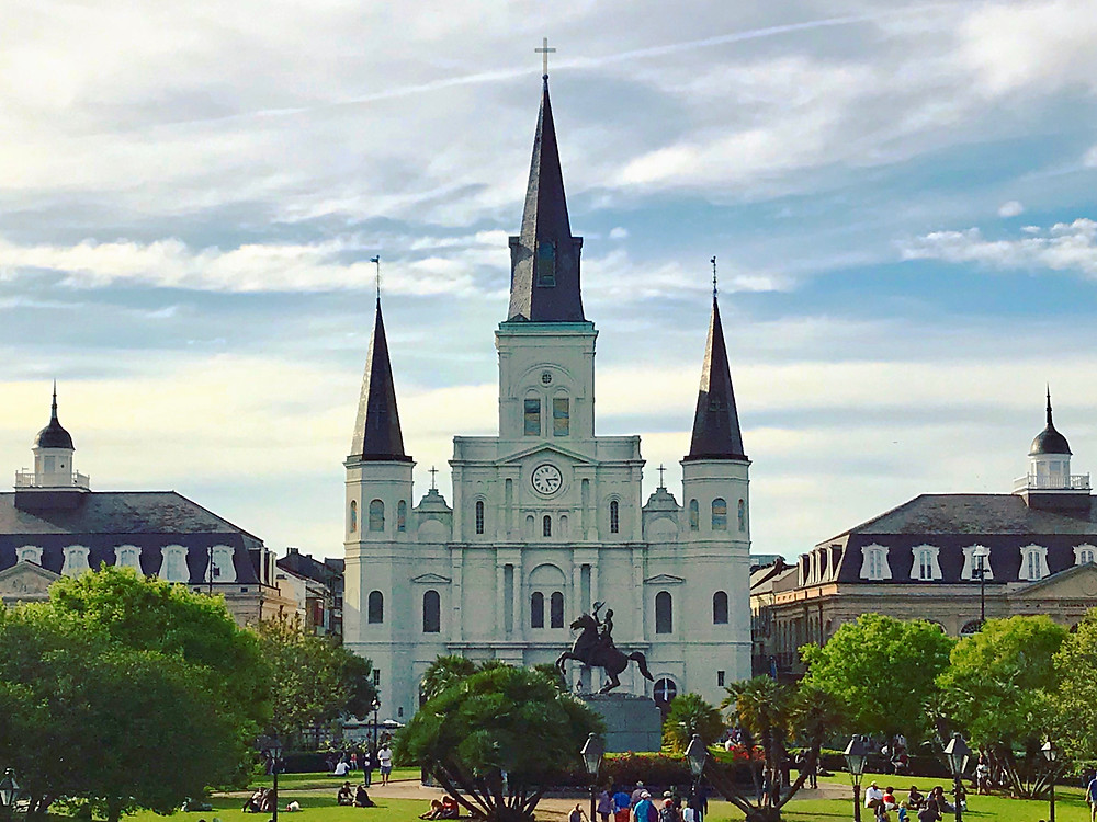 Jackson Square church St Louis Cathedral