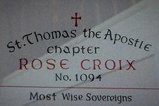 St Thomas the Apostle Chapter