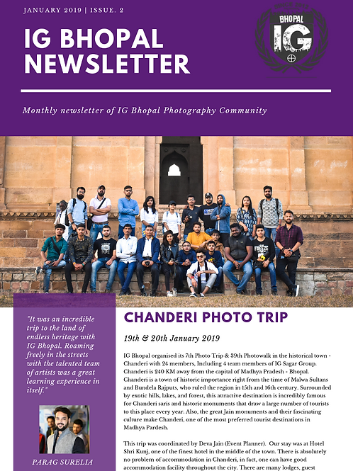 IG BHOPAL NEWSLETTER ISSUE 2