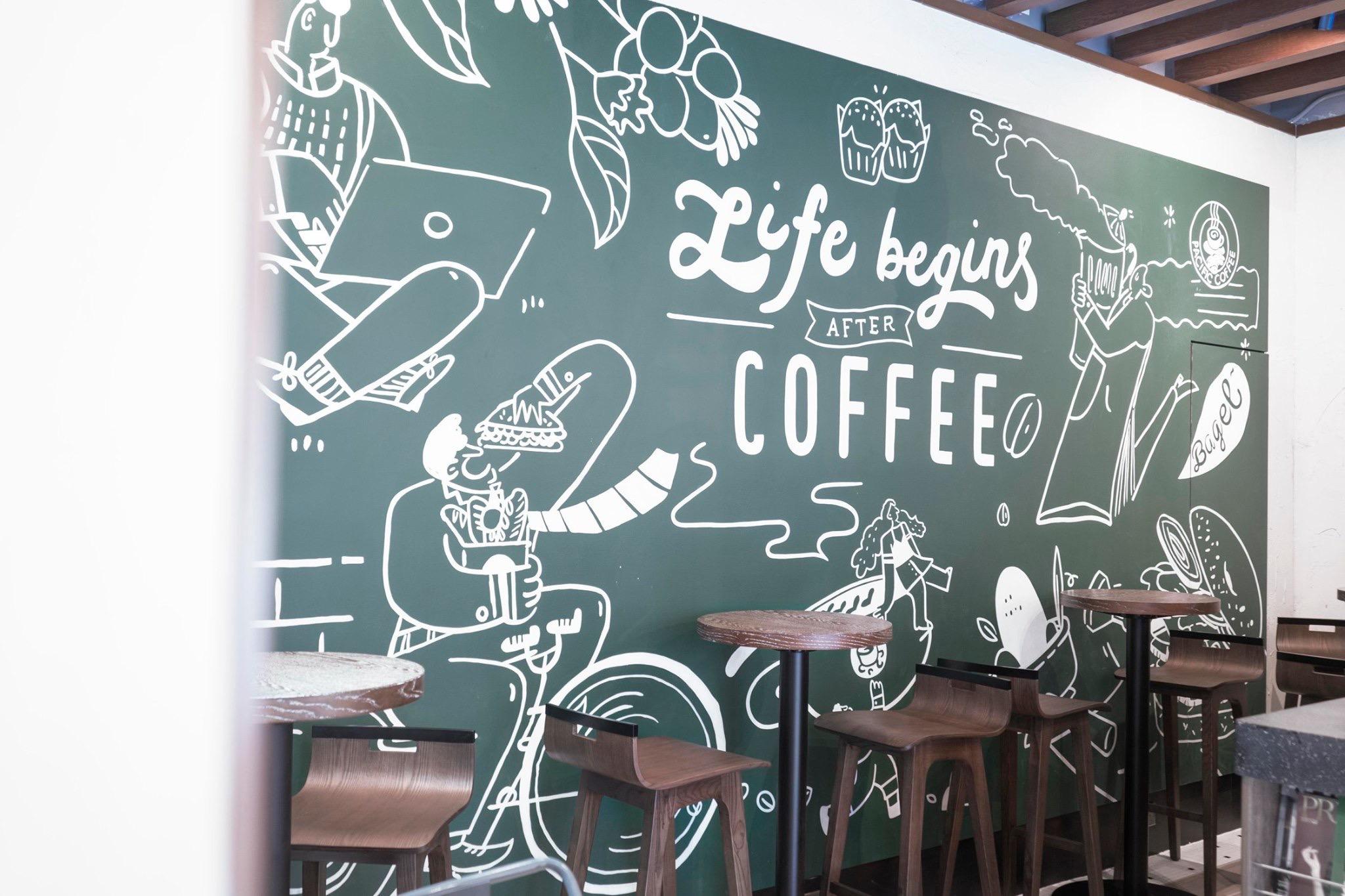 上環 Pacific Coffee
