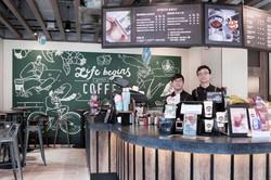 上環Pacific Coffee