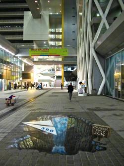 Hong Kong Trick Art