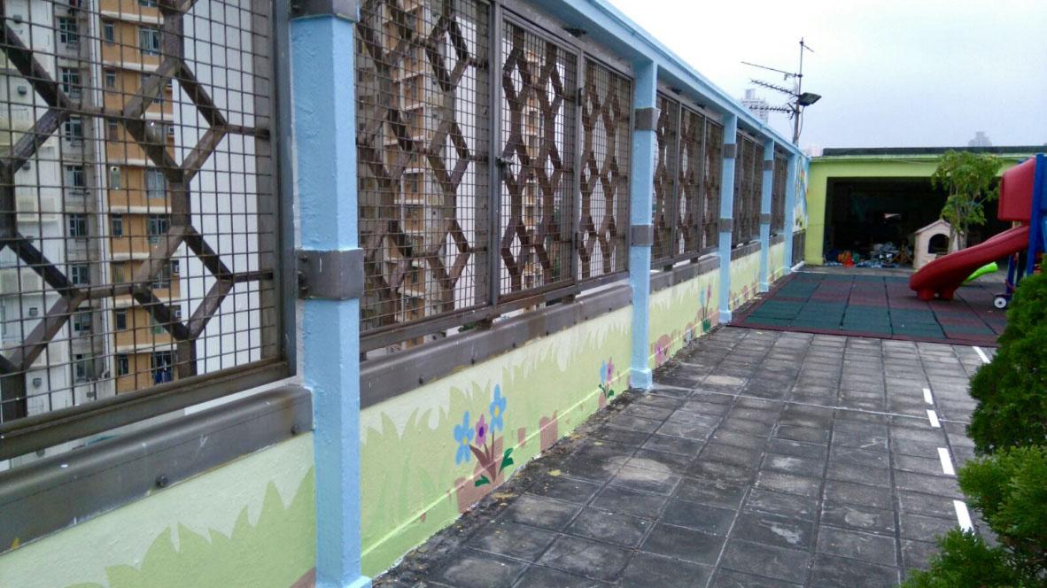 香港基督教服務處大坑東幼兒學校壁畫