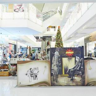 Museum Context x K11聖誕主題壁畫