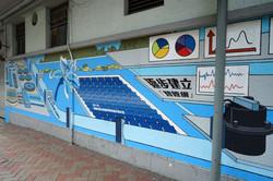 hong kong wall painting