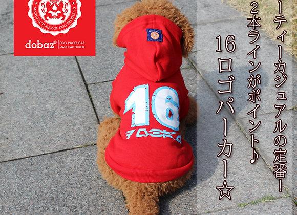 ★dobaz(ドバズ)★16ロゴ パーカー★全2色(S-5XL・DM・DL)