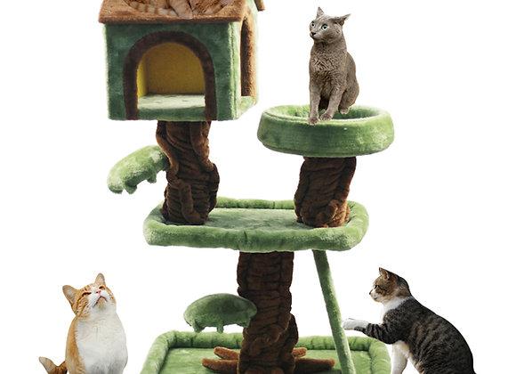 ★キャットタワー★猫ちゃん喜ぶ森のハウス★爪とぎ★ハギーバディーズ★猫用品★人気商品