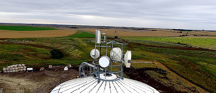 5GHz fixed wireless installation