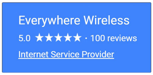 Everywhere Wireless 5-star ratings