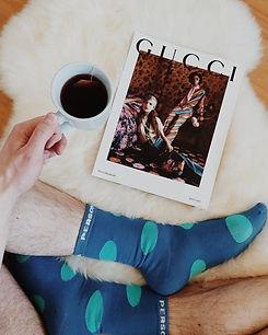 Blue polka dot socks   Ice blue socks   Egyptian cotton socks   colourful socks   fun socks   funky socks   luxury socks