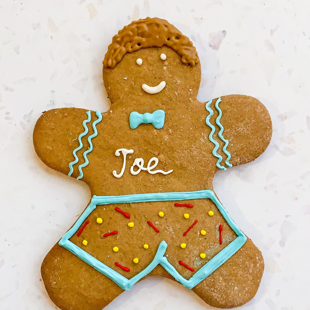 Custom Gingerbread Cookies - Joe - 50 AE