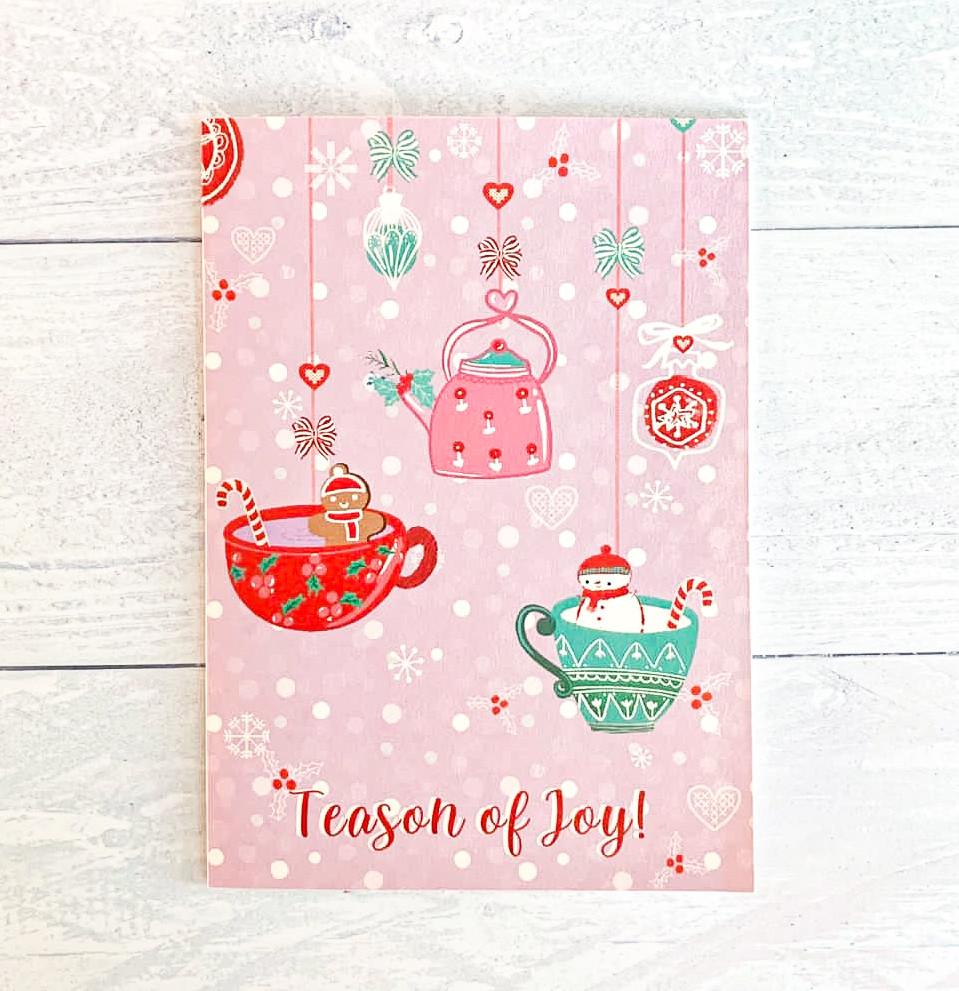 Festive Card - Decorations - TTH - 30 AE