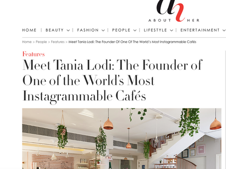 ABOUT HER: Meet Tania Lodi: The Founder of One of the World's Most Instagrammable Cafés