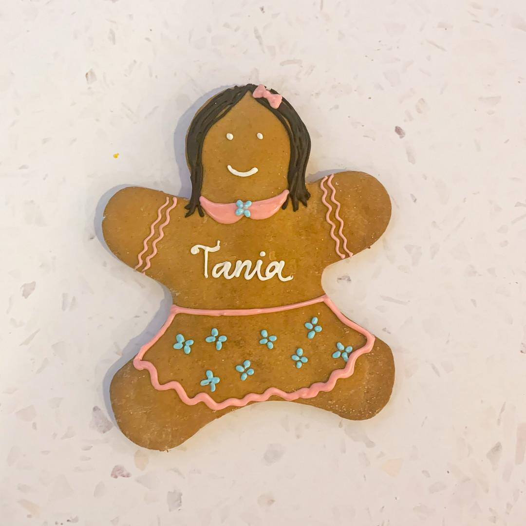 Custom Gingerbread Cookies - Tania - 50