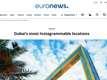 Dubai's most Instagrammable locations