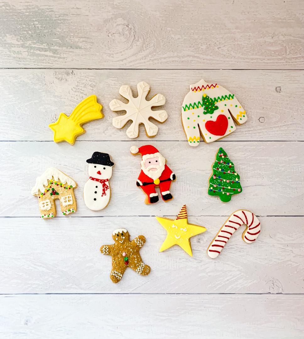 Festive Sugar Cookie Box - TTH - 115 AED