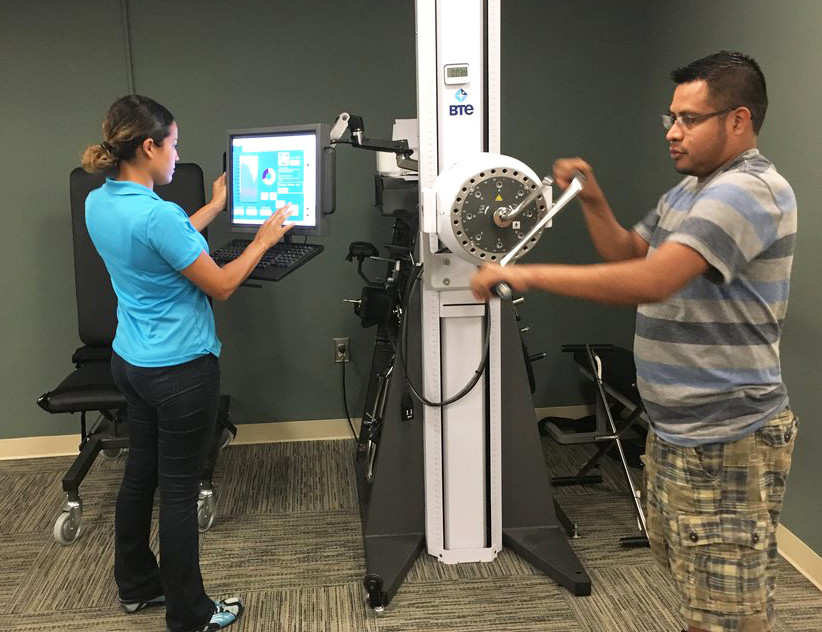 BTE Machine Exercise for Wrist
