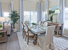 Staged Model Home - Dining Room