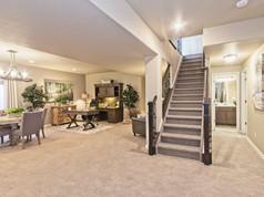 Staged Model Home - Basement