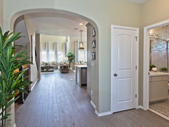 Staged Model Home - Entry in