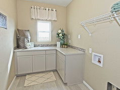 Staged Model Home - Laundry