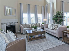 Staged Model Home-Great Room
