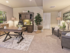 Staged Model Home - Office
