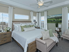 Staged Model Home- Master suite