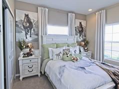 Staged Model Home - Bedroom 2
