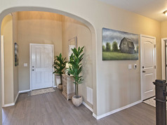 Staged Model Home - Entry out