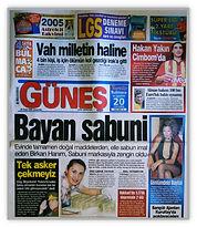 Gunes Gazetesi Manset.JPG