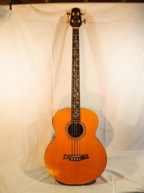 Handmade Acoustic Bass - solid timber - with hardcase