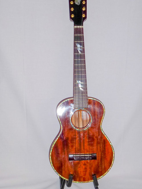 Baritone Uke Hand Made Solid timber