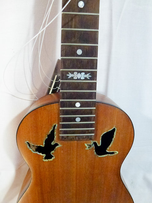 Custom solid timber Uke