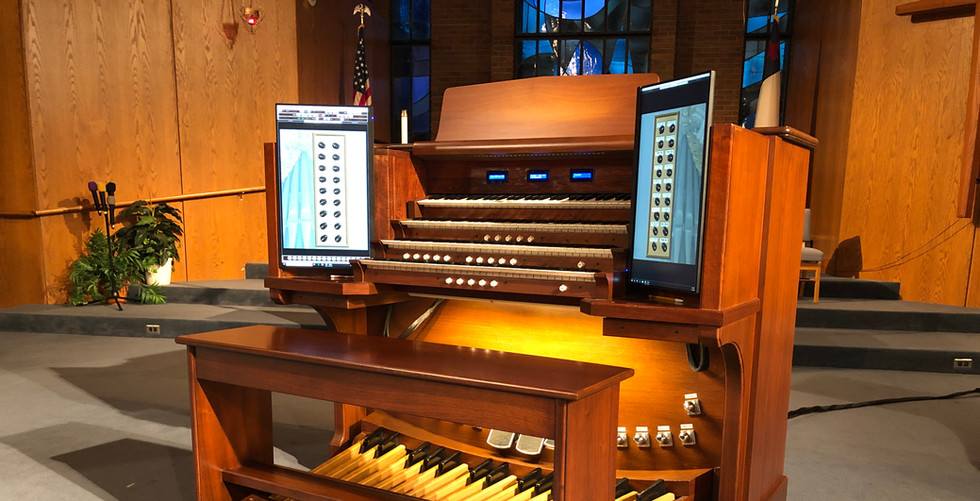 Console with Sonus Paradisi Silbermann Loaded