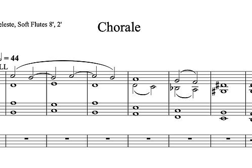 Chorale for Organ