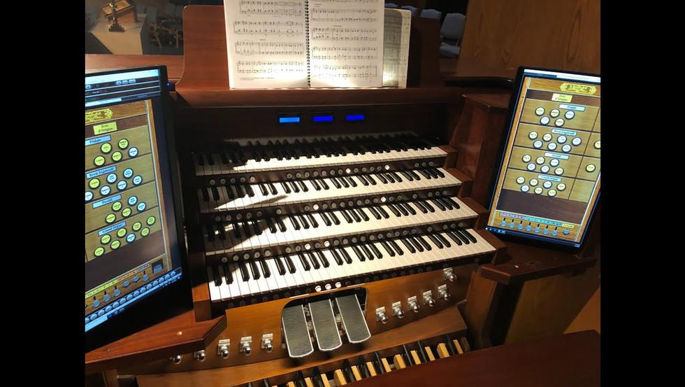 Hauptwerk Organ Dedication Concert