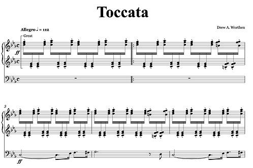 Toccata for Organ