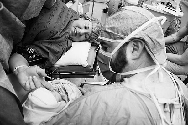 A cesarean isn't often something anyone