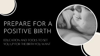 Prepare for a positive birth heading -2.
