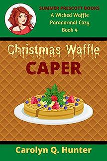 Christmas Waffle Caper