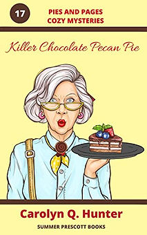 Killer Chocolate Pecan Pie