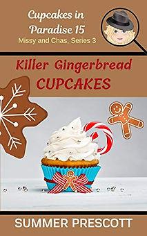 Killer Gingerbread Cupcakes