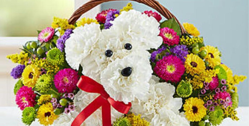 Puppy Basket Design