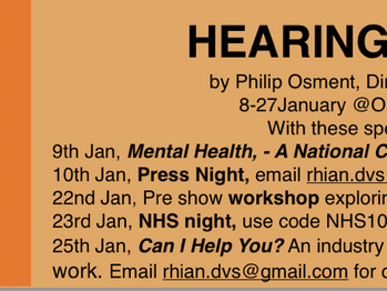 Hearing Things at Omnibus Theatre