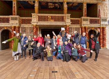 Shakespeare's Globe Invitation